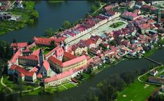 Telč (South Moravia), Czechia Czech Republic, Photo Galleries, River, Mansions, House Styles, World, Gallery, Places, Outdoor