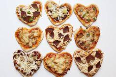 29 recetas de pizza dignas de Instagram para probar en casa Crepes, Pesto, Avocado Pizza, I Want Pizza, Heart Shaped Pizza, Curry, Mini Pizza, Valentines Day Dinner, Best Food Ever