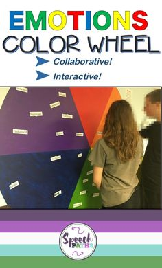 Read how my students created an emotions color wheel in the school hall! Fun long-term project that can be done collaboratively with teachers & counselors!
