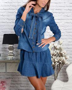 Košeľové šaty Casual, Dresses, Fashion, Vestidos, Moda, Fashion Styles, Dress, Fashion Illustrations, Gown