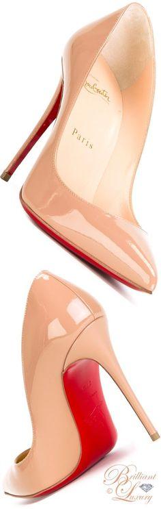 Brilliant Luxury by Emmy DE ♦ Christian Louboutin 'Pigalle Follies' pumps