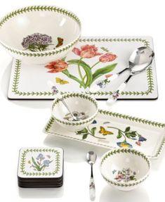 Portmeirion Dinnerware, New Botanic Garden Collection | macys.com