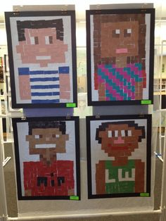 Minecraft Selfies. Not my favorite but I bet all the boys would love this project.