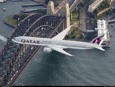 High quality photo of A7-BAO (CN: 36011) Qatar Airways Boeing 777-3DZER by Seth Jaworski