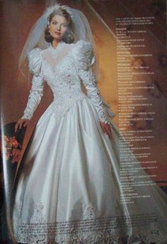 This is the exact wedding dress I wore 28 years ago on my wedding day. 1980s Wedding Dress, Mori Lee Wedding Dress, Gorgeous Wedding Dress, Wedding Dress Sleeves, White Wedding Dresses, Bridal Dresses, Beautiful Dresses, Bridesmaid Dresses, Wedding Gowns