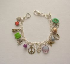 Wayfare. Artisan Charm Bracelet by blushingpixie on Etsy, $35.00