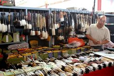"""Panjiayuan Market (aka """"The Dirty Market""""), Beijing, China China Trip, China Travel, People Around The World, Around The Worlds, Things To Buy, How To Memorize Things, Brooms And Brushes, Market Trader, Chinese Market"""