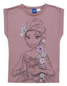 Disney Frozen Elsa T-Shirt Frozen Outfits, Disney Outfits, Frozen Clothes, Little Girl Outfits, Toddler Outfits, Kids Outfits, Junior Girls Clothing, Girl Sleeping, Disney Frozen Elsa