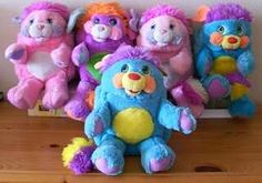 popples, I wish I could remember what color mine was