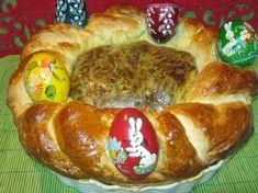 Drob de miel in coronita de aluat Hot Dog Buns, Hot Dogs, Catering, French Toast, Easter, Bread, Breakfast, Honey, Morning Coffee