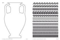 Beispielseiten - Vase & Mäander