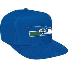 4abc33d3318 Help support your favorite team in this NFL Retro Snap Back Hat from  Mitchell  amp
