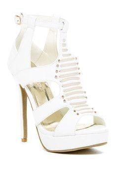 Elegant Footwear Ardal Heeled Sandal