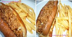 Ce michigan maison est mon préféré, et c'est la sauce qui lui vaut tous ses honneurs! Meat Recipes, Salad Recipes, Cooking Recipes, Hot Dog Chili, Confort Food, Canadian Food, Cheap Meals, Chum, Hot Dog Buns