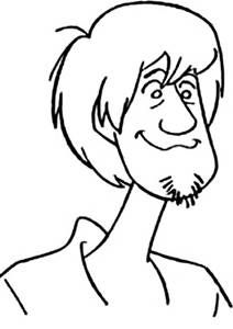 scooby doo valentine coloring pages - photo#21