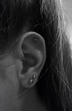first lobe second lobe cartilage  ear piercings