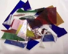 stained glass scrap – Etsy