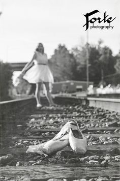 Senior Portrait Dance Ballerina Asheville area Senior Photos Forte Photography NC