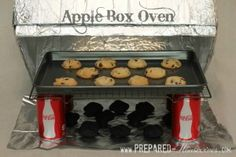 3 powerless ovens you can make for practically free, using scraps. Pictured - Apple Box Oven (which uses a charcoal), also  discusses Rocket Stove & Wonder Oven.    thesurvivalmom.com