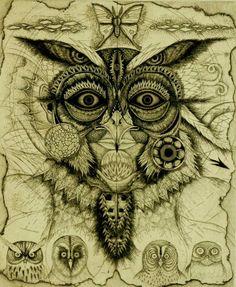 Metamorphosis No.11 Mrs Owl by Mitsuru Nagashima