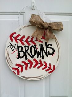 Items similar to Baseball Door Decor! Every baseball fan needs one! on Etsy Baseball Wreaths, Baseball Crafts, Baseball Games, Baseball Scores, Pro Baseball, Baseball Equipment, Baseball Signs, Baseball Stuff, Baseball Party