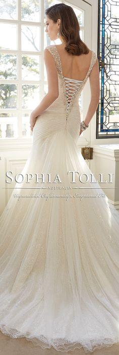 1000 images about sophia tolli wedding dresses on for Sophia tulle wedding dress