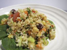 Salade de quinoa et de pois chiches - Menoum.co