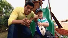 Noah Ritter Kid reporter & Gio Benitez Abc News at home - Apparently Bes...