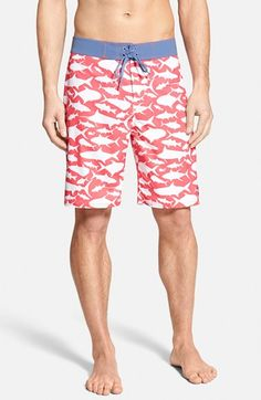 Vineyard+Vines+'School+Of+Fish'+Board+Shorts+available+at+#Nordstrom