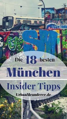 München ist eine der meistbesuchten Städte Europas. Genau deshalb nenne ich dir hier 18 München Insider Tipps bzw. Geheimtipps abseits der Touristenpfade.