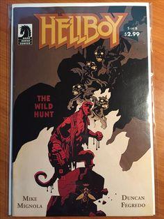 Hellboy Wild Hunt #5 - August 2009 - Dark Horse