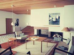 "blueberrymodern: ""Alvar Aalto - Maison Louis Carre """