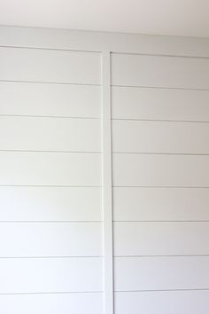 Jenna Sue: New Master: Paint, Trim & Plank Wall