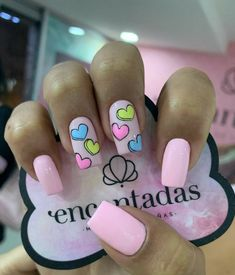 Best Nail Polish Colors of 2020 for a Trendy Manicure Diy Nails, Cute Nails, Pretty Nails, Funky Nail Art, Funky Nails, Heart Nails, Best Acrylic Nails, Dream Nails, Nagel Gel