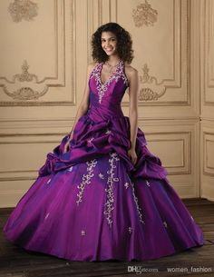 Cheap Quinceanera Dress - Discount Custom Made Ruffle Ball Gown Quinceanera Dress with Online with $152.88/Piece | DHgate