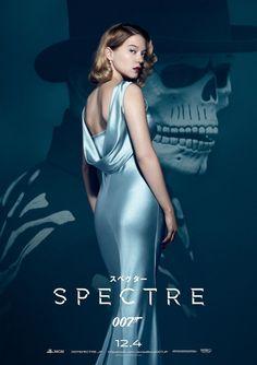 007 SPECTRE Japanese Version Poster 04 Léa Seydoux