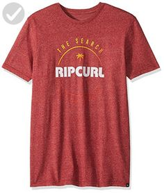 Rip Curl Men's Smasher Mock Twist Tee: Rip Curl tee's are a product of the search and are made with the finest materials and technology Rip Curl, Branded T Shirts, Fashion Brands, Navy, Amazon, Link, Mens Tops, Stuff To Buy, Shopping