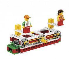 LEGO 9689 Machines voor technieklessen in het basisonderwijs.