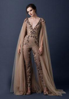 paolo-sebasion-AW15-the-sleeping-garden-blush-gold-bronze-bridal-gown-wedding-dress-violet-purple6