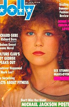 Game-changing: Nicole Kidman's 1983 Dolly cover was the actress' first time behind a camera and helped launch her career, former editor Lisa Wilkinson revealed on Thursday Michael Jackson Poster, Lisa Wilkinson, A Girl Like Me, Richard Gere, Culture Club, Boy George, Nicole Kidman, Teenage Years, The Good Old Days