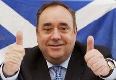 Breaking News: Scottish first minister Alex Salmon...