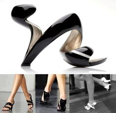 Don't know if this would actually be comfortable to walk in. But they look cool!