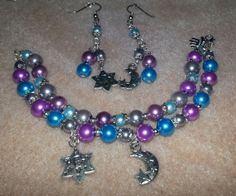 My Etsy.com store is now open. Check out the Pearly Girl Bracelet and Earring Set by TheArtistryCollage on Etsy, $10.00