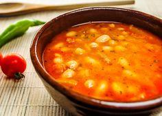 Supa de fasole boabe