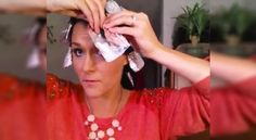 Elle met du papier d'aluminium dans ses cheveux. Résultat? J'aurais aimé savoir ce truc avant!