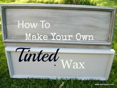 How To Make Dark Wax For Furniture.this is supposedly a cheaper alternative to Annie Sloan dark wax. Chalk Paint Wax, Chalk Paint Projects, Chalk Paint Furniture, Milk Paint, Furniture Projects, Furniture Refinishing, Furniture Redo, Waxing Furniture, Refurbished Furniture