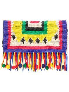Sensi Studio X Chiara Totire Nalo Woven-straw Clutch In Multicolour Bohemian Accessories, Bag Accessories, Clutches For Women, Designer Clutch, Vintage Bags, Mini Bag, Wicker, Kids Rugs, Studio