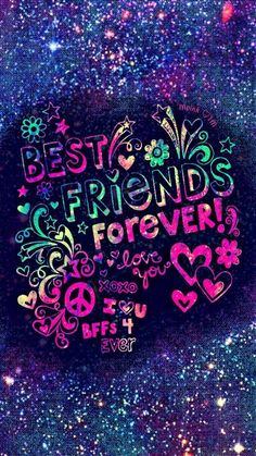 New Lock Screen Wallpapers Quotes Friends Ideas Wallpapers Best Friends, Best Friend Wallpaper, Funny Phone Wallpaper, Galaxy Wallpaper, Wallpaper Quotes, Versace Wallpaper, Happy Friendship Day Quotes, Friendship Images, Bff Quotes