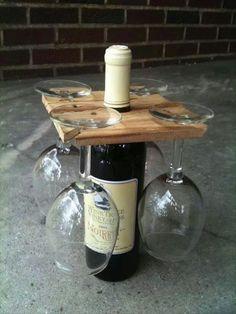 Wine + glasses