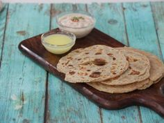 Aloo Paratha Recipe | This recipe is one of the Indian love to have it. A very simple and easy to make at home with minimal stuff. Paratha Recipes, Dried Mangoes, Indian Food Recipes, Ethnic Recipes, Coriander Powder, Clarified Butter, Recipe Steps, Recipe Using
